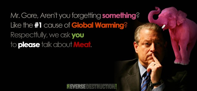 Al Gore, there is a Pink Elephant in the Room